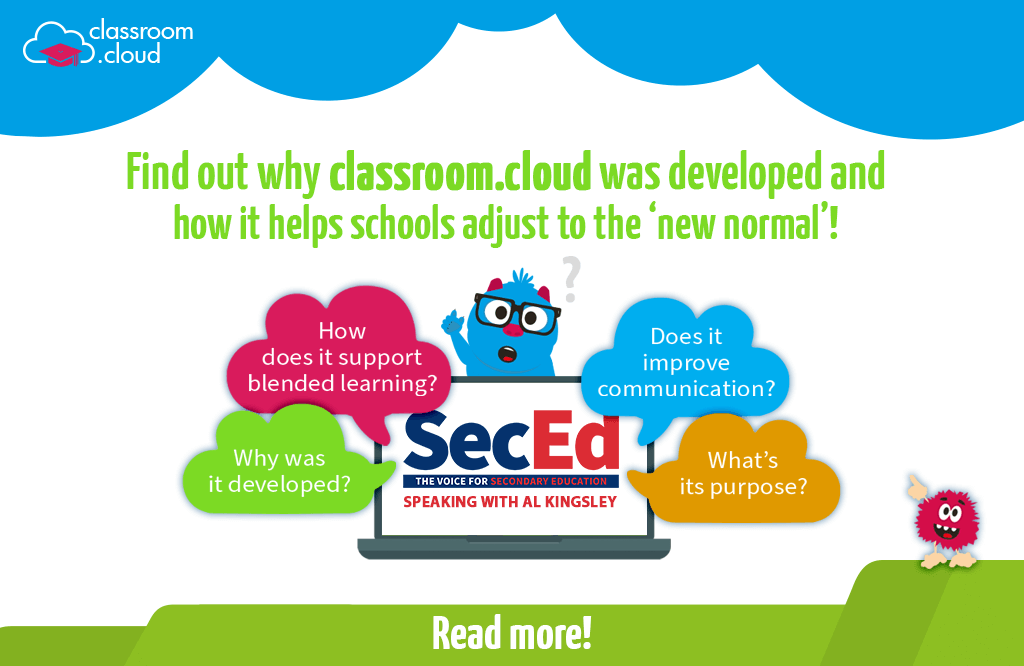 Find out about classroom.cloud on the SecEd podcast!