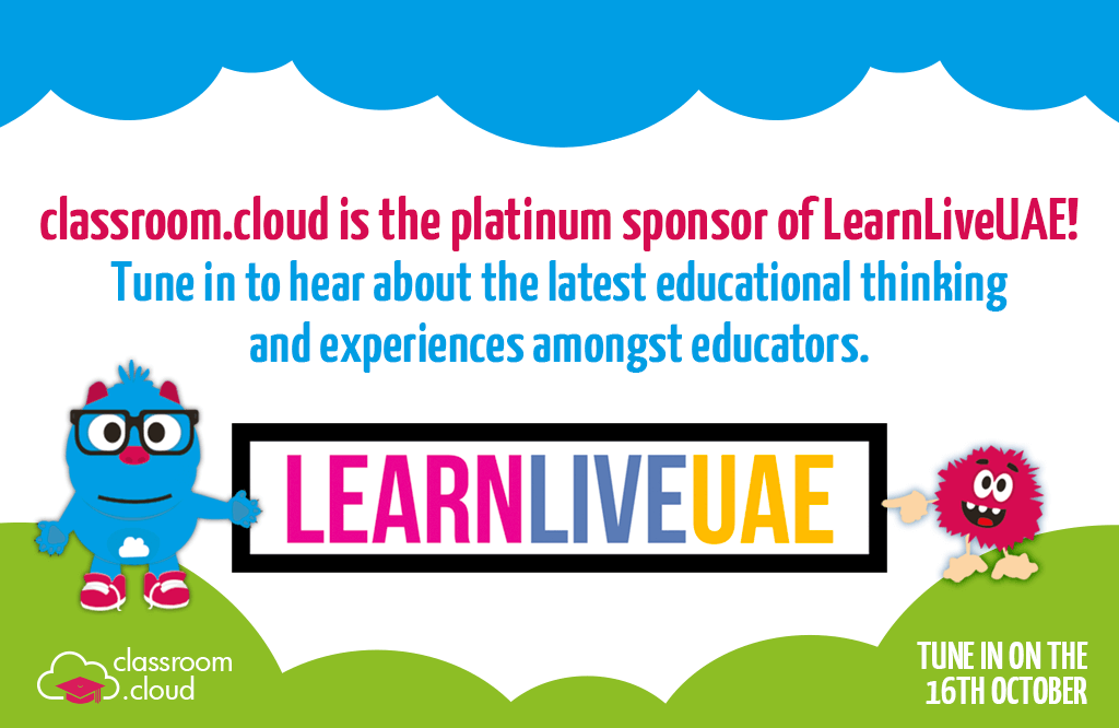 classroom.cloud is proud to sponsor LearnLiveUAE