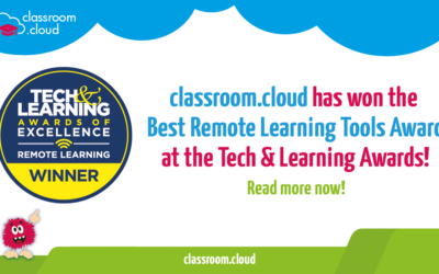 We won Tech & Learning's Best Remote Learning Tools Awards!