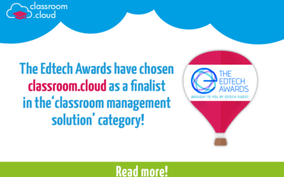 The EdTech Awards have chosen classroom.cloud as a finalist!