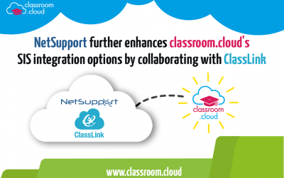 NetSupport further enhances classroom.cloud's SIS integration options by collaborating with ClassLink