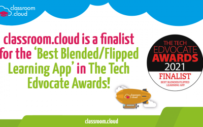 classroom.cloud is a finalist in The Tech Edvocate Awards!