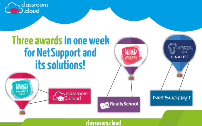 Three awards in one week for NetSupport and its solutions!